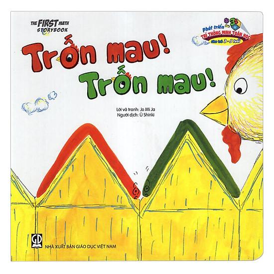 [Download Sách] Phát Triển Trí Thông Minh Toán Học Cho Trẻ 2-5 Tuổi - Trốn Mau, Trốn Mau