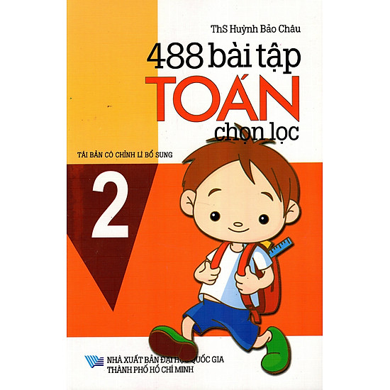 488 Bài Tập Toán Chọn Lọc Lớp 2
