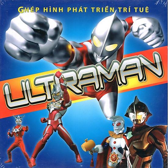 Download sách Ghép Hình Phát Triển Trí Tuệ - Ultraman