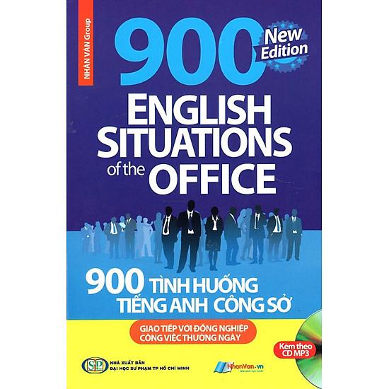 Download sách 900 Tình Huống Tiếng Anh Công Sở (Kèm CD)