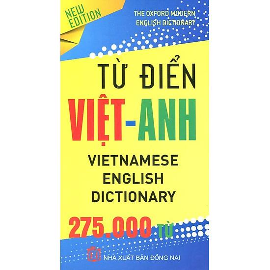 [Download Sách] Từ Điển Việt - Anh 275.000 Từ