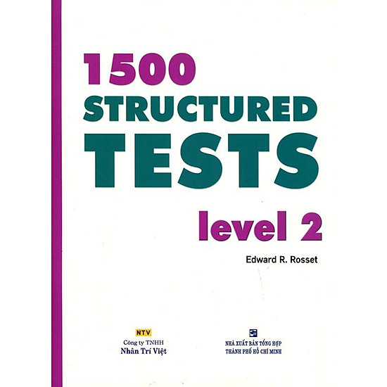 [Download Sách] 1500 Structured Tests Leve 2 (Không CD)