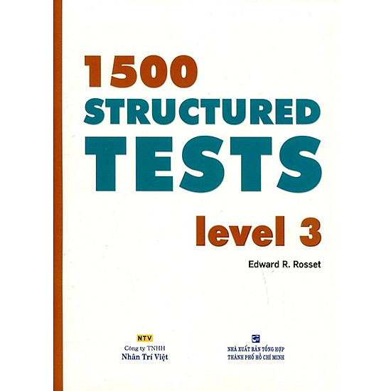 1500 Structured Tests Leve 3 (Không CD)