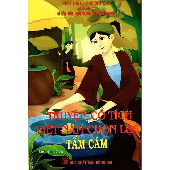 [Download Sách] Truyện Cổ Tích Việt Nam Chọn Lọc - Tấm Cám (Kèm CD)