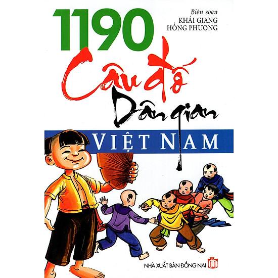 1190 Câu Đố Dân Gian Việt Nam