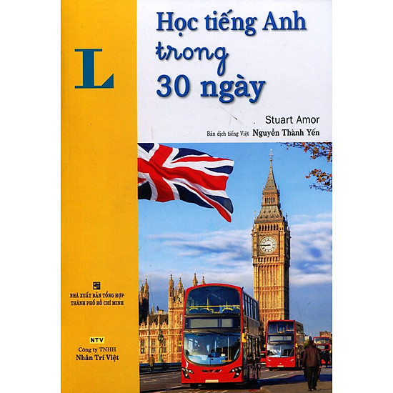 Học Tiếng Anh Trong 30 Ngày (Kèm CD)