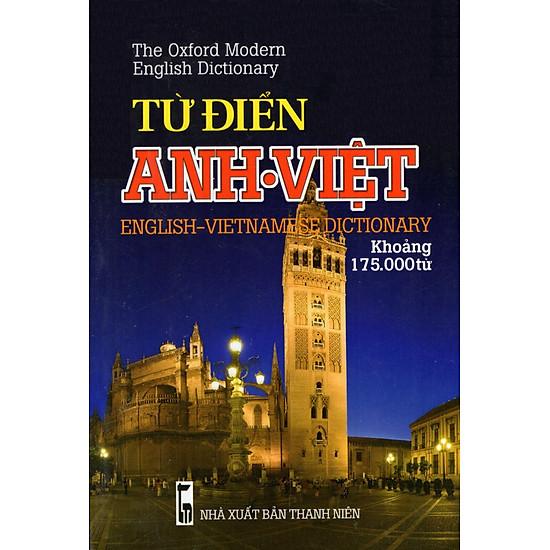 Từ Điển Anh – Việt (Khoảng 175.000 Từ) – Sách Bỏ Túi