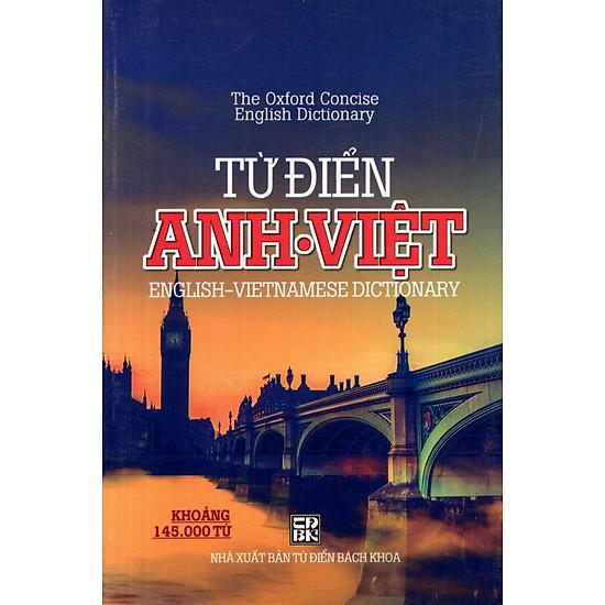 Từ Điển Anh – Việt (Khoảng 145.000 Từ) (Minh Trí) – Sách Bỏ Túi