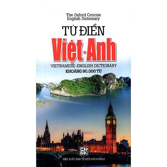 Từ Điển Việt – Anh (Khoảng 90.000 Từ) (2014) – Sách Bỏ Túi