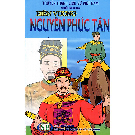 [Download Sách] Truyện Tranh Lịch Sử Việt Nam - Chúa Thượng Nguyễn Phúc Tần