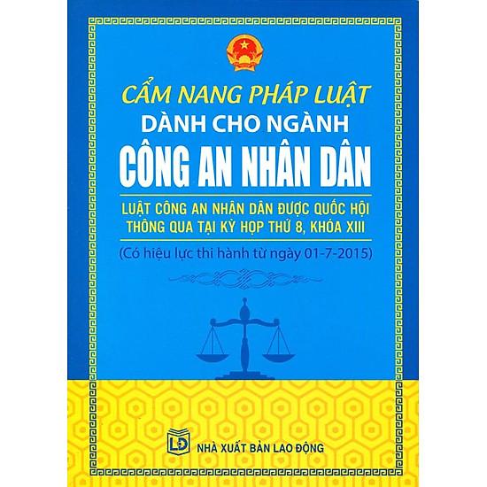 Cẩm Nang Pháp Luật Dành Cho Ngành Công An