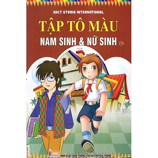 Tập Tô Màu Nam Sinh & Nữ Sinh