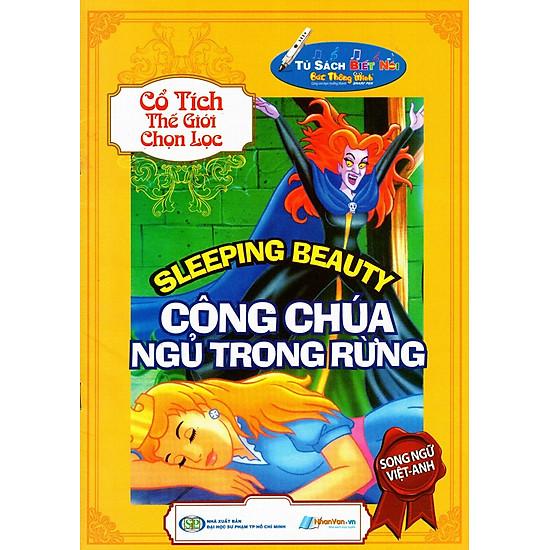 [Download Sách] Cổ Tích Thế Giới Chọn Lọc - Công Chúa Ngủ Trong Rừng (Song Ngữ Việt - Anh)