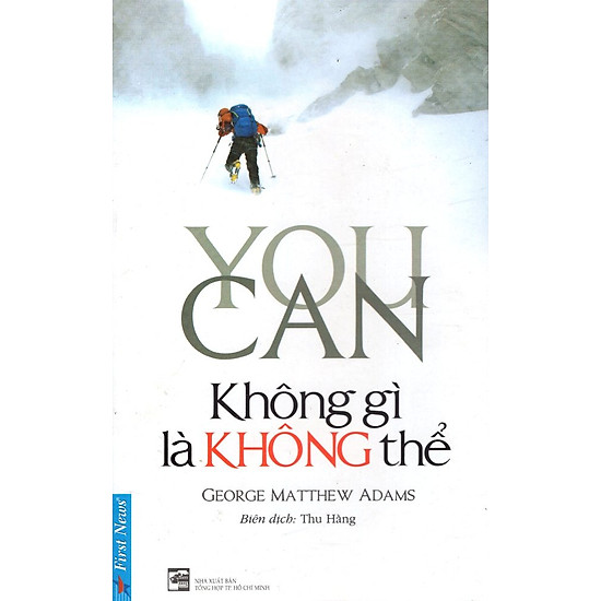 You Can – Không Gì Là Không Thể (Tái Bản)