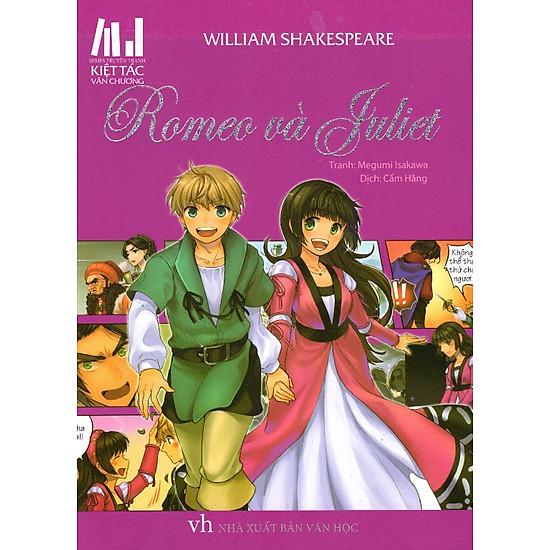 [Download Sách] Series Truyện Tranh Kiệt Tác Văn Chương - Romeo Và Juliet