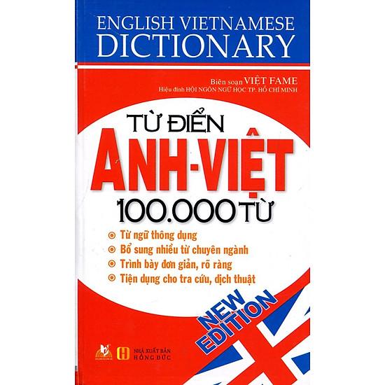 Download sách Từ Điển Anh - Việt 100.000 Từ (Tái Bản)