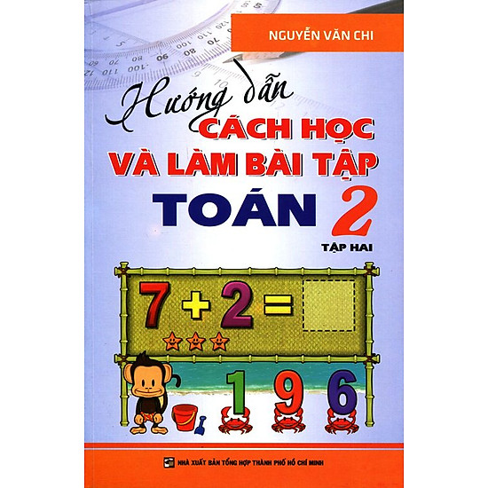 [Download sách] Hướng Dẫn Cách Học Và Làm Bài Tập Toán Lớp 2 (Tập 2)