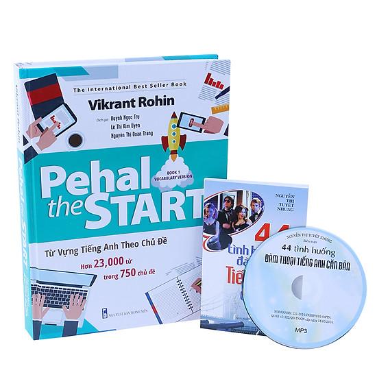 Pehal The Start - Từ Vựng Tiếng Anh Theo Chủ Đề (Tặng Sách 44 Tình Huống Đàm Thoại Tiếng Anh Căn Bản + CD)