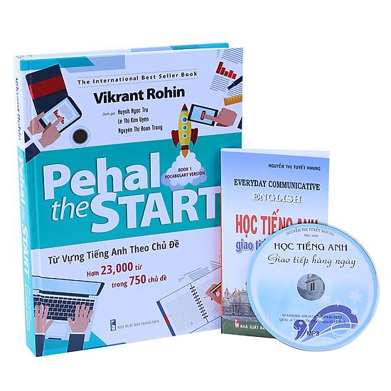 [Download Sách] Pehal The Start - Từ Vựng Tiếng Anh Theo Chủ Đề (Tặng Sách Học Tiếng Anh Giao Tiếp Hàng Ngày + CD)