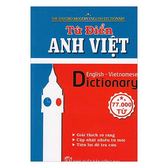 Từ Điển Anh - Việt 77.000 Từ
