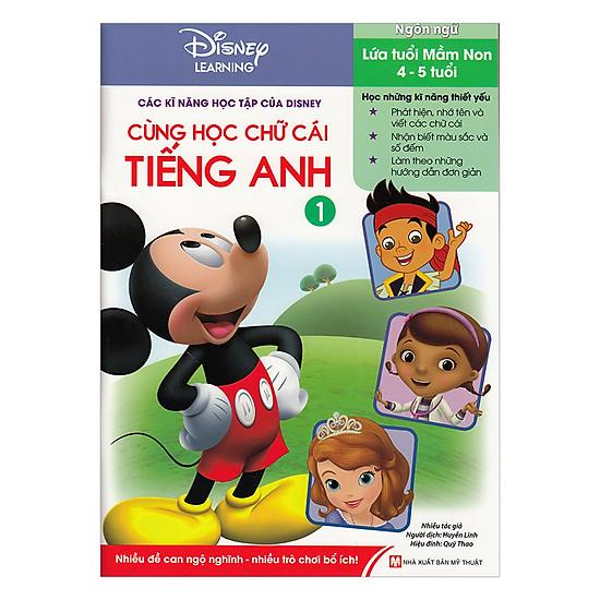 [Download sách] Disney Learning - Cùng Học Chữ Cái Tiếng Anh (Tập 1)