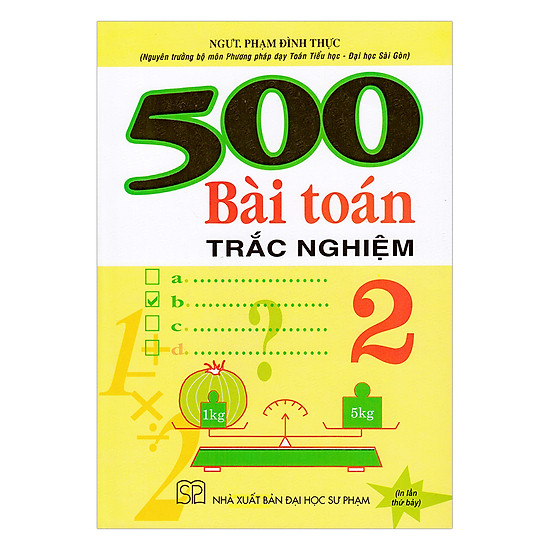 500 Bài Toán Trắc Nghiệm Lớp 2