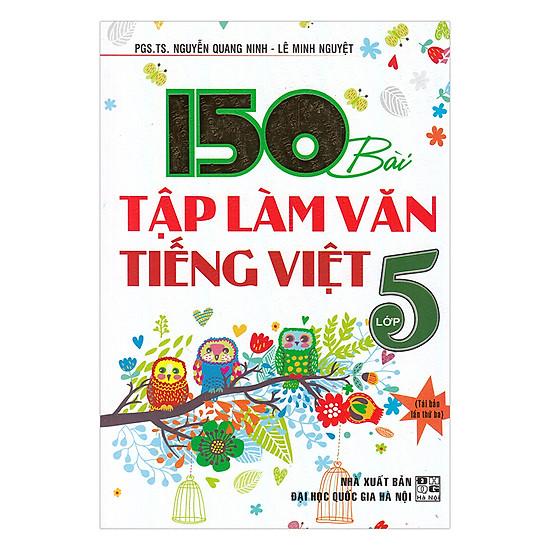 [Download sách] 150 Bài Tập Làm Văn Tiếng Việt Lớp 5