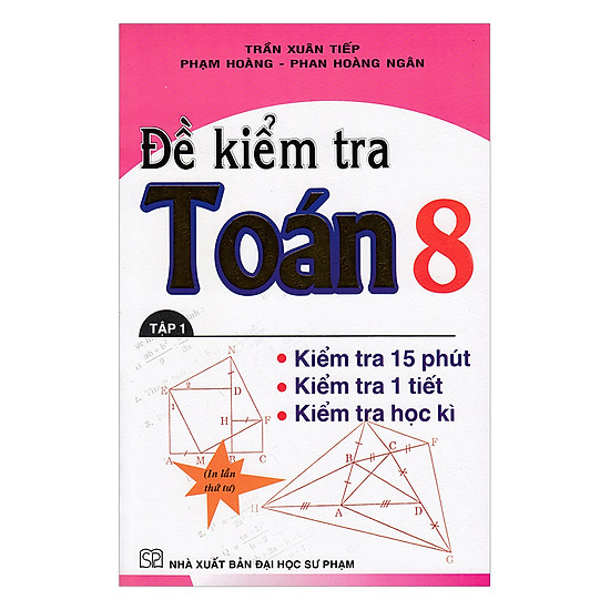 Đề Kiểm Tra Toán Lớp 8 (Tập 1)