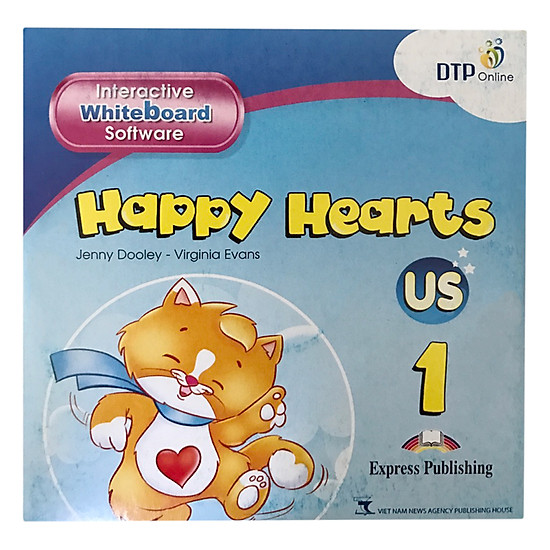 Happy Hearts US 1 Interactive Whiteboard Software