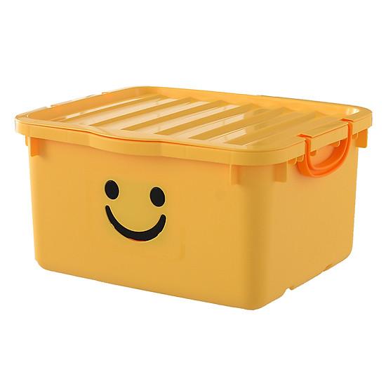 Thùng Nhựa Happy Box Yuwon PS YW-15 - Vàng Nhạt (Size Lớn)