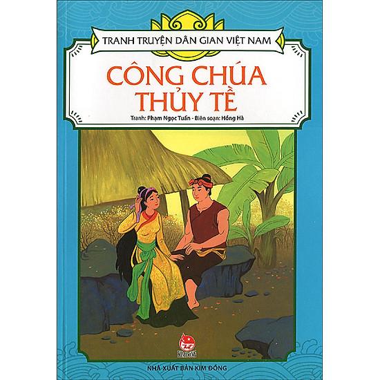 Tranh Truyện Dân Gian Việt Nam – Công Chúa Thủy Tề