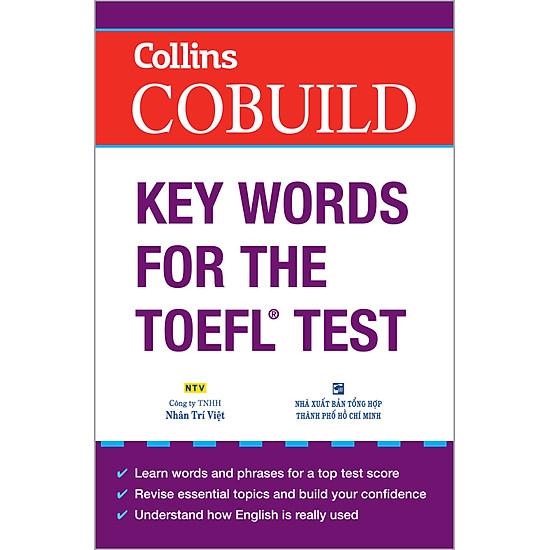 Collins COBUILD Key Words For The TOEFL Test