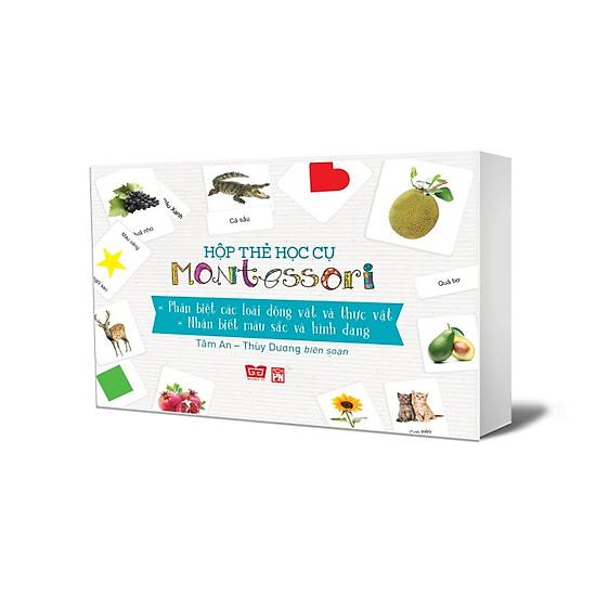 Hộp Thẻ Học Cụ Montessori: Khám Phá Thế Giới Tự Nhiên – Nhận Biết Màu Sắc Và Hình Dạng