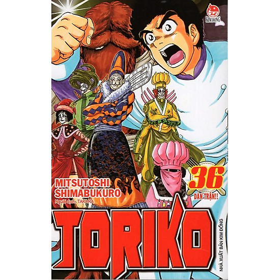Toriko – Tập 36