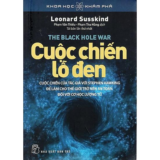 [Download sách] Khoa Học Khám Phá - Cuộc Chiến Lỗ Đen (Tái Bản)