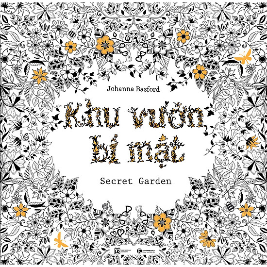 Khu Vuon Bi Mat Coloring Book