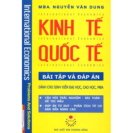 Download sách Kinh Tế Quốc Tế - Bài Tập Và Đáp Án