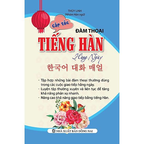 [Download sách] Cấp Tốc Đàm Thoại Tiếng Hàn Hàng Ngày