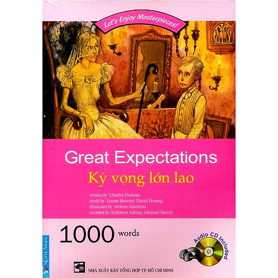 [Download Sách] Happy Reader - Kỳ Vọng Lớn Lao (Kèm CD)