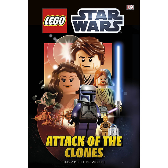 DK Reads LEGO® Star Wars Attack of the Clones (Dk Readers Level 2)