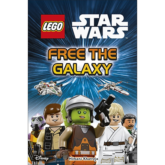 DK Reads LEGO® Star Wars Free the Galaxy