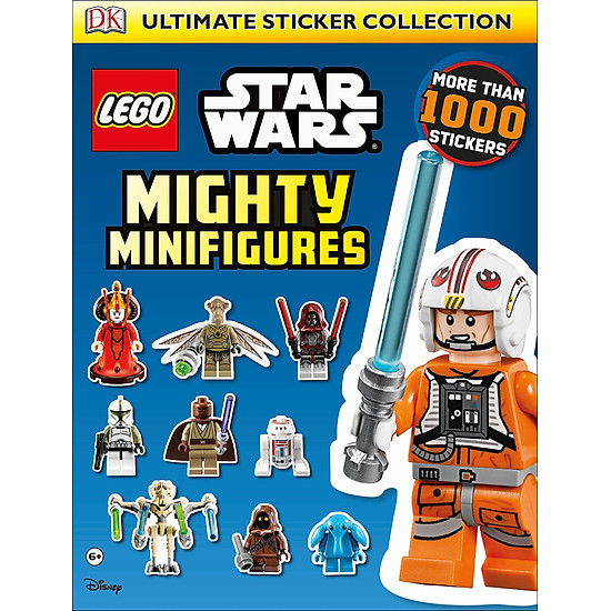 [Download Sách] LEGO® Star Wars Mighty Minifigures Ultimate Sticker Collection