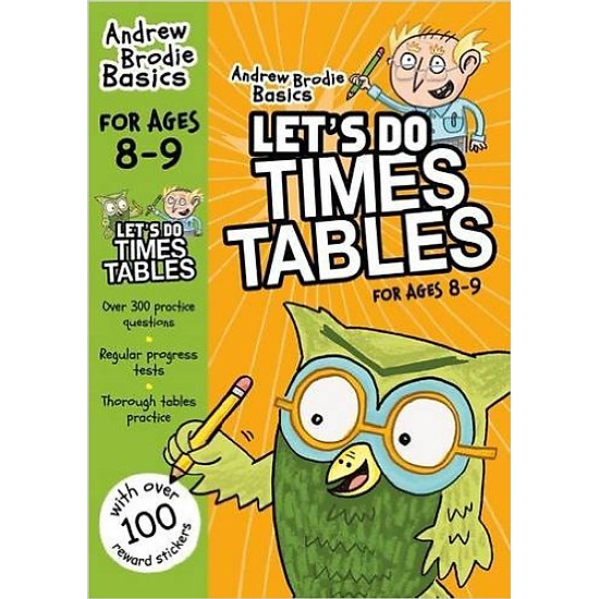 Let's Do Times Tables For Age 8 - 9