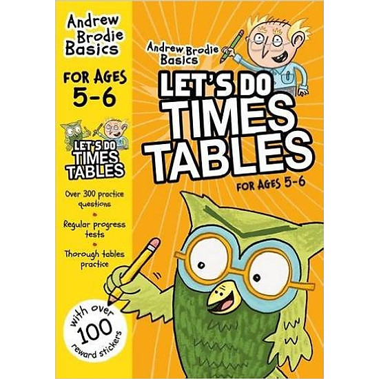 Let's Do Times Tables For Age 5 - 6
