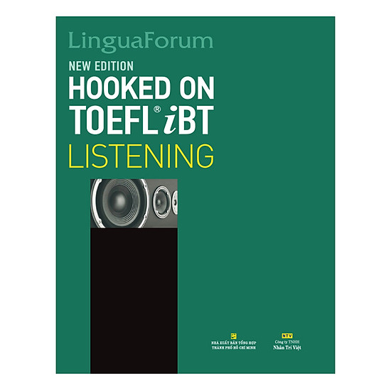 [Download sách] LinguaForum Hooked On TOEFL iBT Listening (New Edition) (With An MP3 And A CD-ROM)