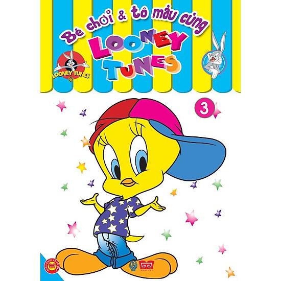 Bé Chơi Và Tô Màu Cùng Looney Tunes (Tập 3) - EBOOK/PDF/PRC/EPUB