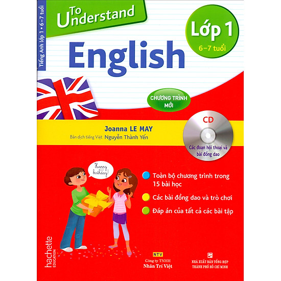 To Understand English Lớp 1 + 1 Đĩa MP3