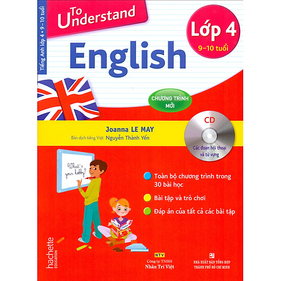 To Understand English Lớp 4 + 1 CD