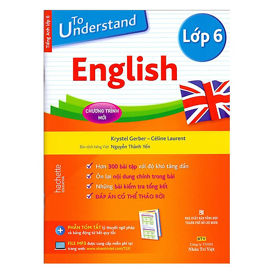 [Download sách] To Understand English (Lớp 6)
