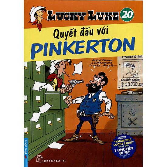 Lucky Luke 20 – Quyết Đấu Với Pinkerton